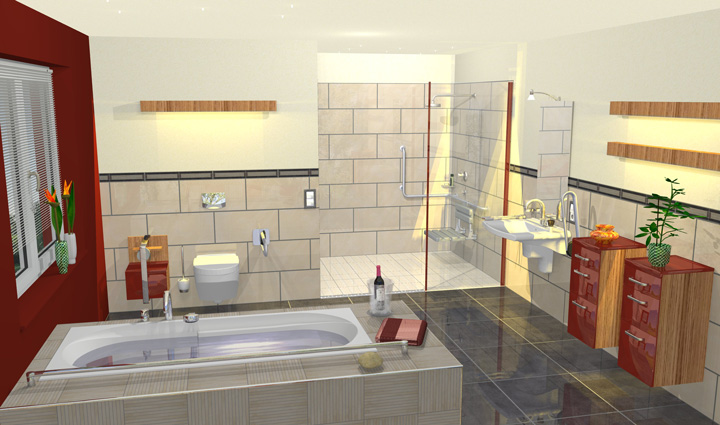 download badezimmer 3d planer download | vitaplaza, Badezimmer ideen